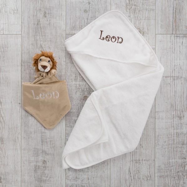 Hooded towel & Comforter, Lion